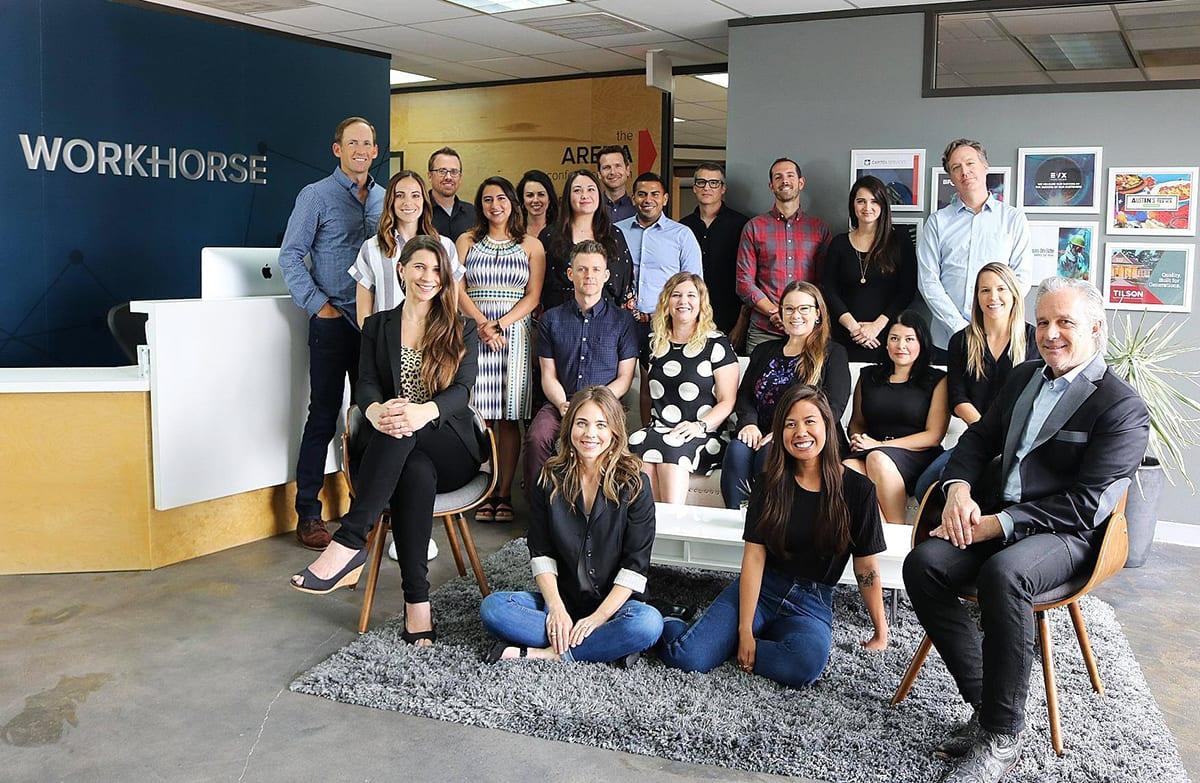 Workhorse Marketing 2019 team photo