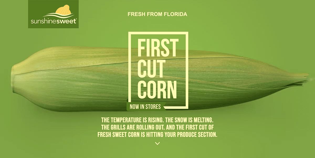 screenshot of farming website