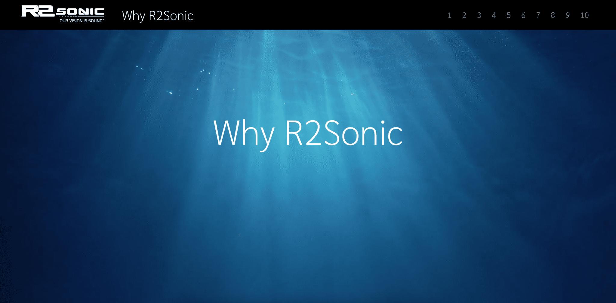 R2Sonic homepage
